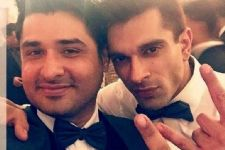 'Dill Mill Gayye' actors' reunioun at Karan Singh Grover's Wedding.