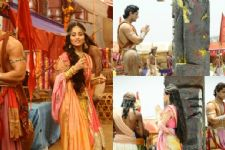 The beginning of Ashoka and Kaurwaki's 'UNION' on Chakravartin Ashoka Samrat!