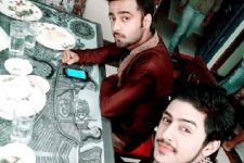 Mukul Raj's brotherly bond on the sets of Begu Sarai!