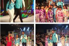 TV stars walk the ramp at kids fashion gala