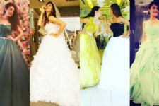 Popular TV Actresses put up a 'Bridal Fashion Week'!