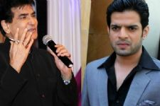 Jeetendra Reprimands Karan Patel for coming late on set?!