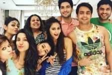 Reunion: When Tina Dutta hosted a Reunion for Uttaran team...