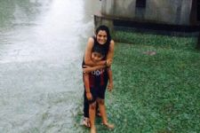 Geetanjali Tikekar and her son playing in the rains would make you go awwwwww!