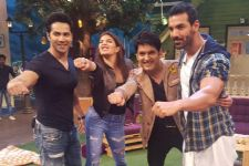 Get 'Dishoom-ed' on 'The Kapil Sharma Show'..