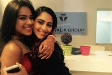 When Krystle Dsouza surprised Nia Sharma...