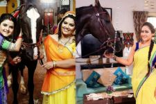 Chidiya Ghar family shoots with 'SULTAN'!