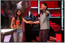 Lucknow Contestant Priyanshi, sets the stage on fire on The Voice India Kids