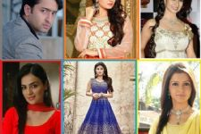 Pictures of your favorite celebs in Navratri Colors!