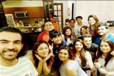 The 'Bahu Hamari Rajni_Kant' team bid an emotional FAREWELL to Karan V Grover..!