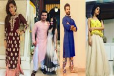Checkout: Festive looks of your favourite TV celebrities. (Part-1)