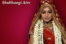 Shubhangi Atre uses real wedding lehenga for reel wedding!