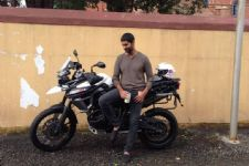 Purab gets adventurous with his bike!