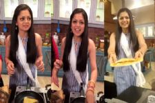When Drashti Dhami had something SPECIAL for the 'Pardes Mein Hai Mera Dil' crew..!