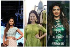 #Stylebuzz: TV Actors SIZZLING at Lakme Fashion Week 2017