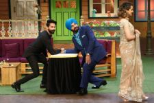 Navjot Singh Sidhu steals Kangana Ranaut's heart on The Kapil Sharma Show!!