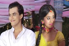 #Stylebuzz: Shivangi And Mohsin's Sunny Yellow looks for their Haldi Ceremony in Yeh Rishta...
