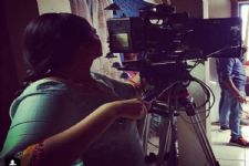When this TV actress turned a 'Camera-Person' to get a perfect shot...