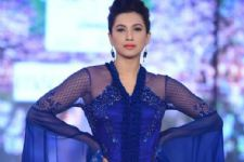 #Stylebuzz: Here's How Glamours Gauahar Khan Looked On The Ramp Of India Beach Fashion Week 2017