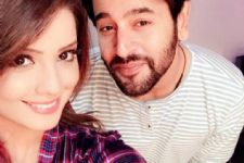 When Shashank Vyas paid Adaa Khan a 'Surprise' visit!