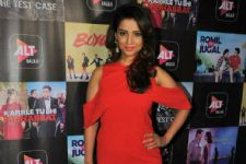 #Stylebuzz: Adaa Khan Looks Hot Like Fire In This Sexy Orange Dress