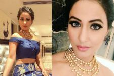 #Stylebuzz: Hina Khan's Blue Beauty Avatar Is Breathtaking!