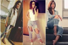 #Stylebuzz: Rock The Ripped Denim Trend Like Celebrities