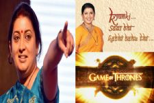 Wait, WHHAATT? Smriti Irani just compared 'Game Of Thrones' to 'Kyunki Saas Bhi Kabhi Bahu Thi'