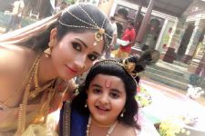 Gungun Uprari and Gulki Joshi find a heartthrob on the sets of 'Paramavatar Shri Krishna'