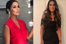 #Stylebuzz: Hina Khan Looked Red Hot And Nia Sharma Totally Chic....