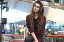 #Stylebuzz: Krystle D'souza Is Craving Wanderlust; Checkout Her Amazing Airport Look!