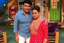 Bharti Singh shoots for her last day on The Kapil Sharma Show!