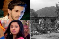 OMG! Fire DESTROYS the sets of 'Ek Aastha Aisi Bhee'