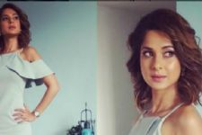 #Stylebuzz: Jennifer Winget Kickstarts An Early Fall With Her Blue Dress
