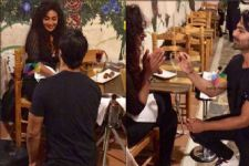 #EXCLUSIVEPICS: Maheck Chahal's BIG MOMENT as boyfriend Ashmit Patel proposes her for marriage!