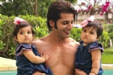 #Stylebuzz: 'Naagin 2' Actor Karanvir Bohra's Twin Daughters' Style Is Super Adorable!