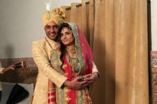 #JustIn: Pictures from Anas Rashid and Heena Iqbal's WEDDING ceremony!