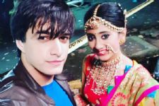 Mohsin Khan & Shivangi Joshi are already CELEBRATING Diwali; here's how!
