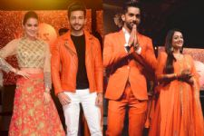 #Stylebuzz: Zee TV's Reigning Couples Stun In Orange Outfits