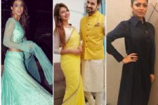 #Stylebuzz: All The Razzmatazz Right From Your Favourite TV Celebrities' Diwali Night!