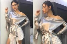 #Stylebuzz: Trust Mouni Roy Alone To Work Silver And Checks