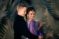 #EXCLUSIVE: Brent Goble & Aashka Goradia's COLOURFUL sangeet ceremony