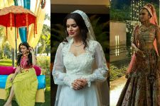#Stylebuzz: Aashka Goradia As She Reaches The Crest Of Bridal Glamour