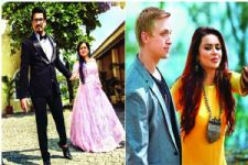 New brides on the block Aashka and Bharti congratulate each other on instagram