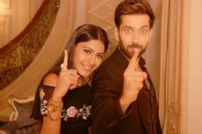 Surbhi Chandna & Nakuul Mehta had some special visitors on the sets of 'Ishqbaaaz'