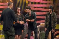 Rohit Shetty GIFTS Ravi Dubey something SPECIAL; the latter responds