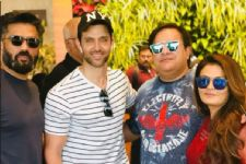 When this Haasil actress and her hubby hung out with Hrithik Roshan and Suniel Shetty!