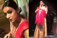 #Stylebuzz: Nia Sharma Goes Full-Throttle Ethnic For A Recent Event In Assam!