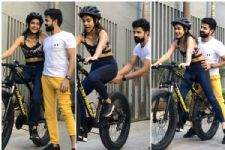 OMG! Aakanksha Singh's V-Day gift is a top end cycle
