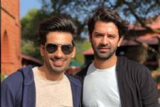 Mohit Sehgal shares his favourite click with Barun Sobti